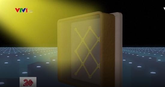 Kính thủy tinh chuyển năng lượng mặt trời thành điện năng