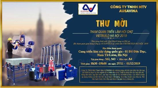 Triển lãm hội chợ Vietbuld Hà Nội 2019