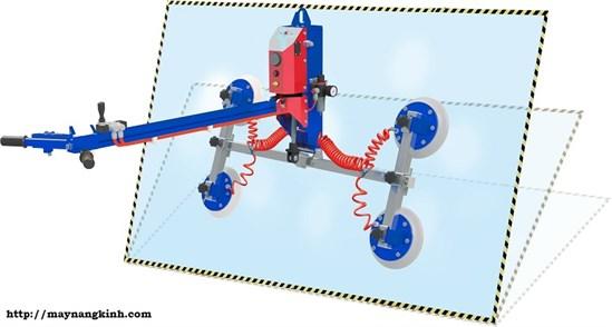 Thiết bị nâng đá bốn mặt hút (Ausavina qli vacuum lifter)